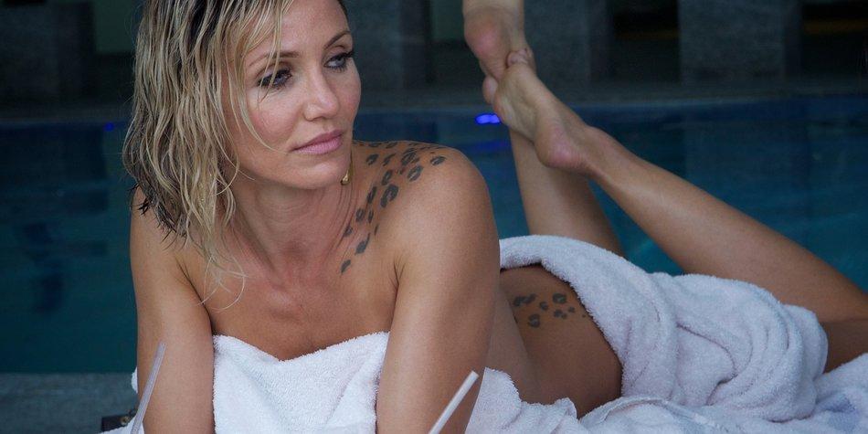 Kameron diaz Sexvideos Ebenholz Füße nackt