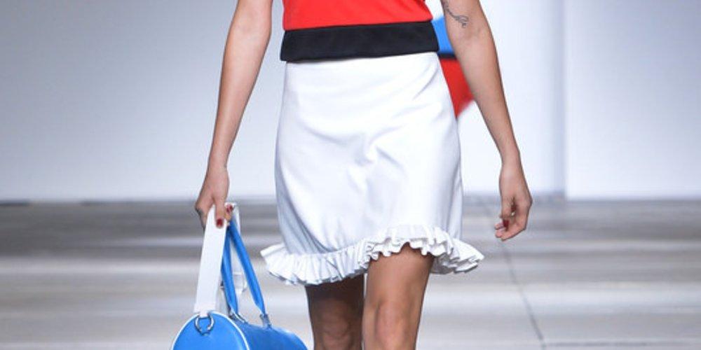 Topshop Unique auf der London Fashion Week