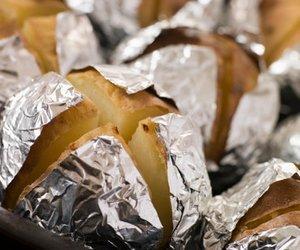 Folienkartoffeln mit Quark