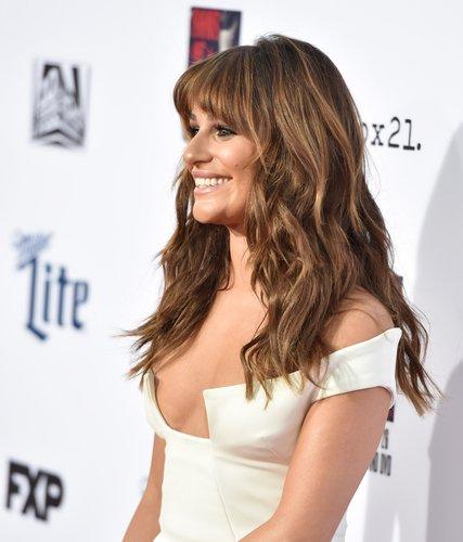 Lea Michele: Sanfte Wellen mit XXL-Pony