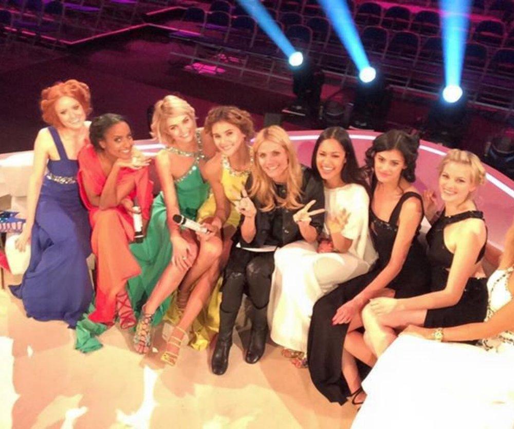 Heidi Klum: Klassentreffen mit ihren Topmodels