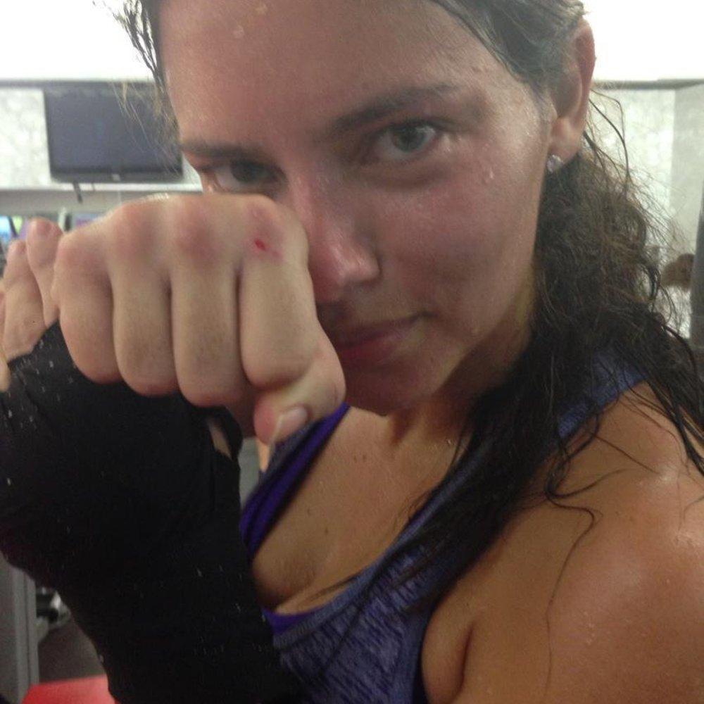 Adriana Lima: Trainierte sie zu hart?