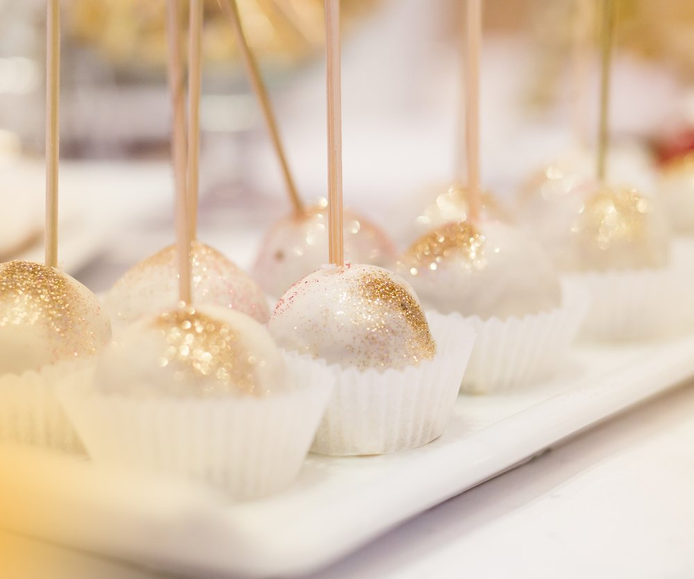 Glitter Cake Pops