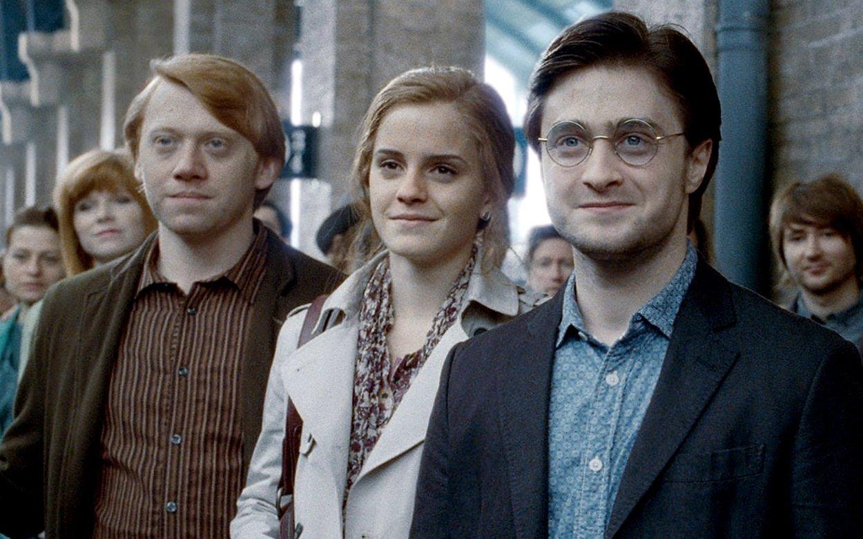 Harry, Ron und Hermine Jahre später
