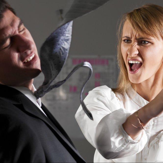 Gewalt in der Beziehung geht häufiger als man denkt von Frauen aus.