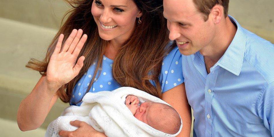 Prinz George ist der berühmteste Londoner!