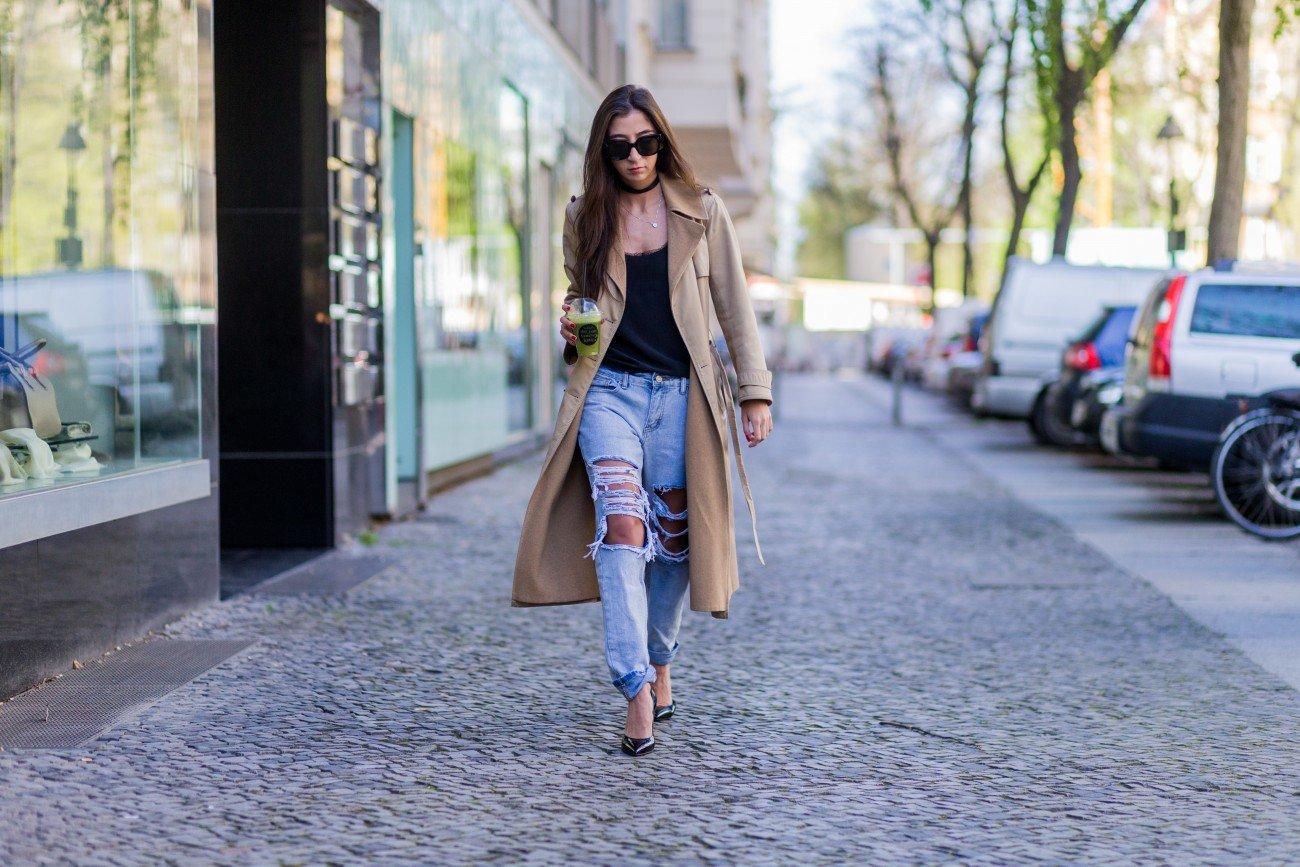 Boyfriend-Jeans kombinieren