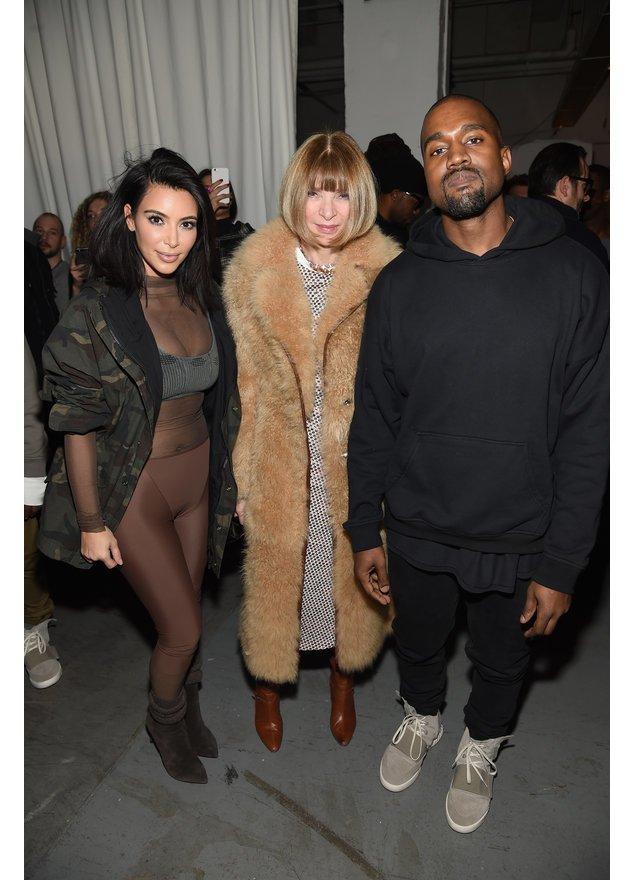 Kim Kardashian und Kanye West mussten sich von Anna Wintour Erziehungstipps geben lassen