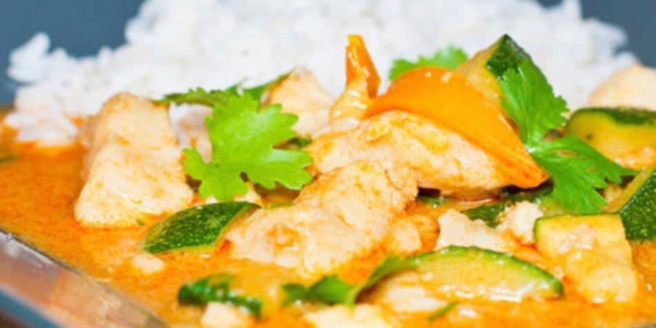 Reispfanne Curry