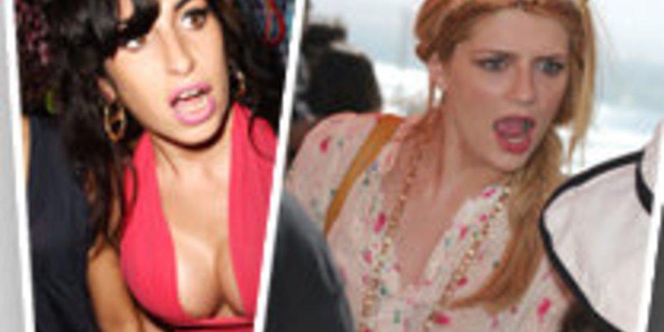 Amy Winehouse und Mischa Barton fetzen sich!
