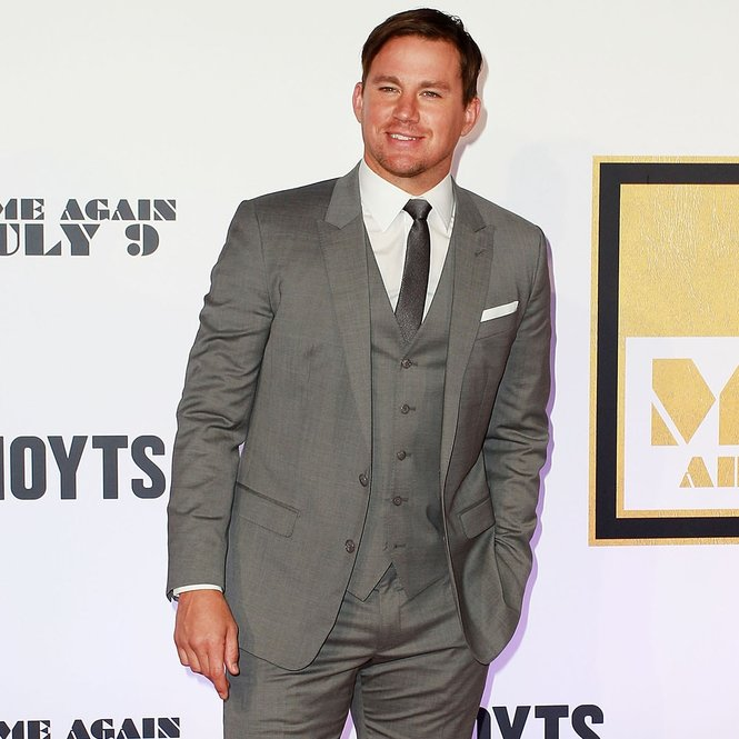 "SYDNEY, AUSTRALIA - JULY 06: Channing Tatum arrives at the ""Magic Mike XXL"" Australian premiere on July 6, 2015 in Sydney, Australia.  (Photo by Lisa Maree Williams/Getty Images)"