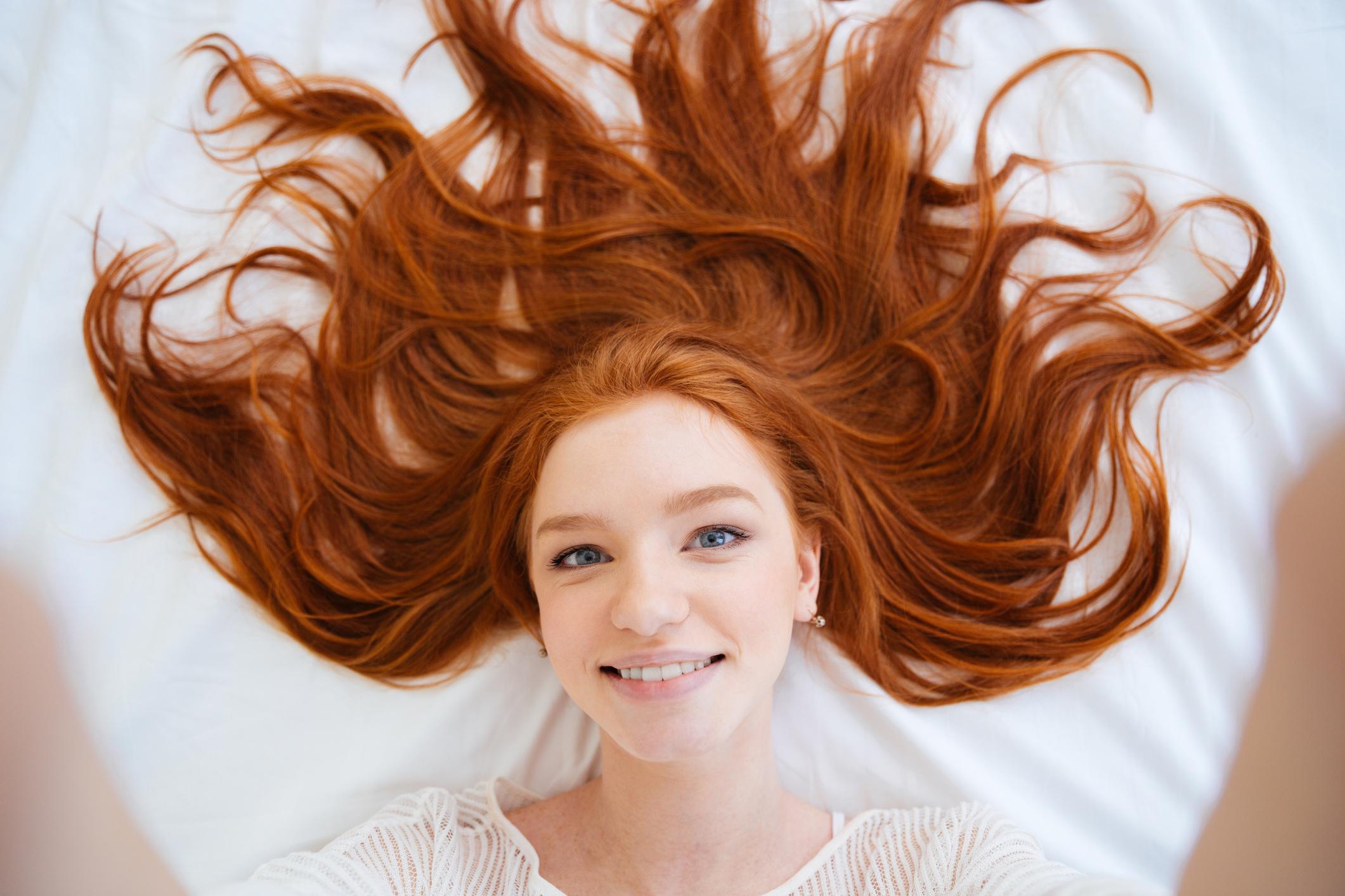 kastanienrot haare