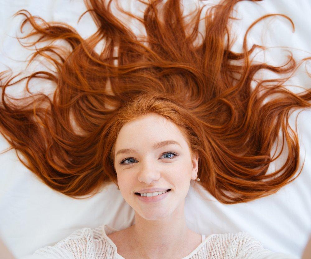 Haare Kupfer färben