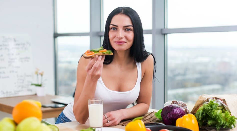 Kalorienarmes Frühstück