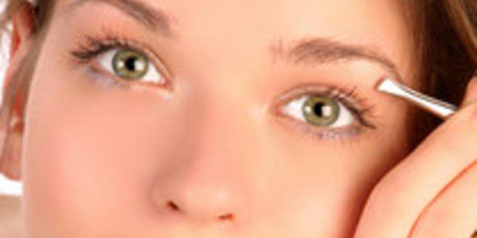 Augenbrauen mit perfektem Schwung