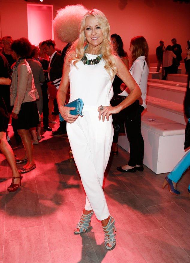 Jenny Elvers bei der Berlin Fashion Week