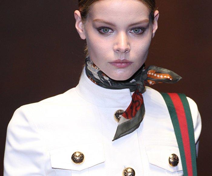 Seidenschal Gucci