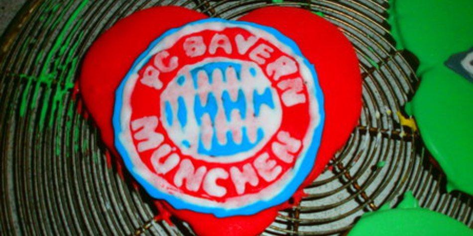 Llebkuchenherzen für Fussballfans