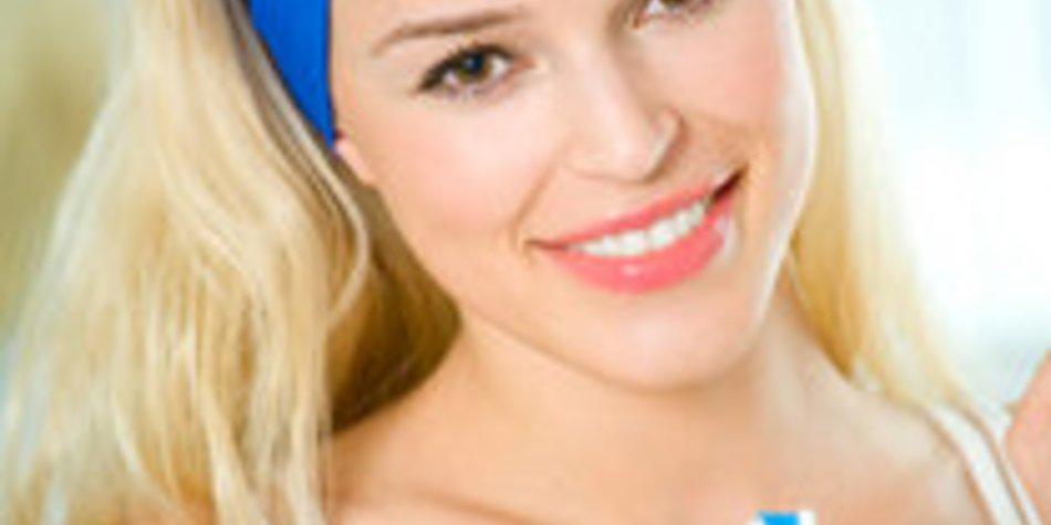 Zahnpflege: Gesunde und weiße Zähne