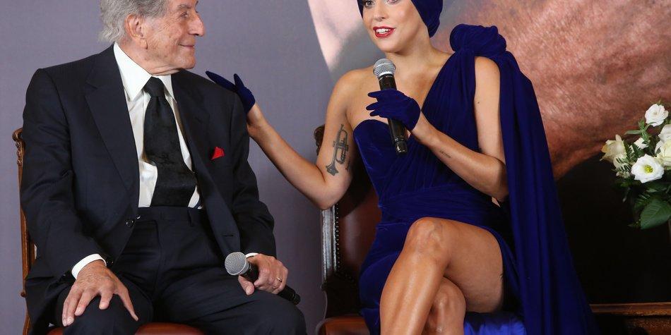 Lady Gaga hat eine Muse