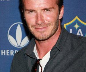 David Beckham bedankt sich