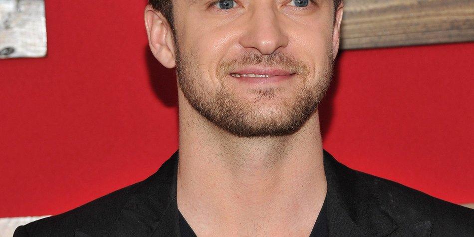Justin Timberlake ganz lustig