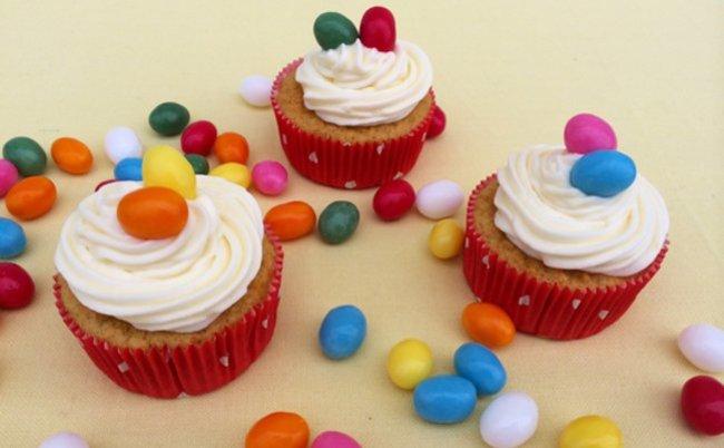 Wenn der Osterhase Cupcakes dabei hat...