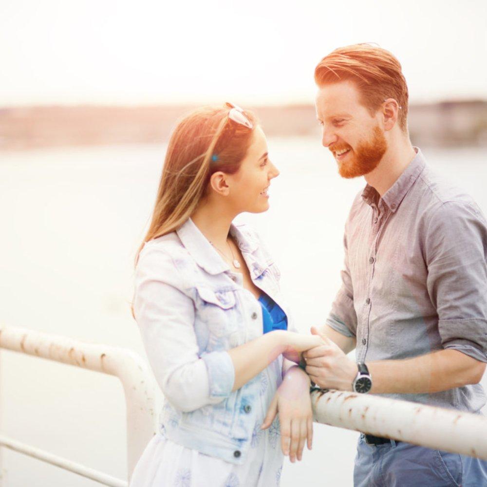 Erstes Date Kuss