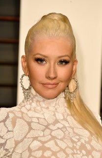 Christina Aguilera: Sleek Ponytail