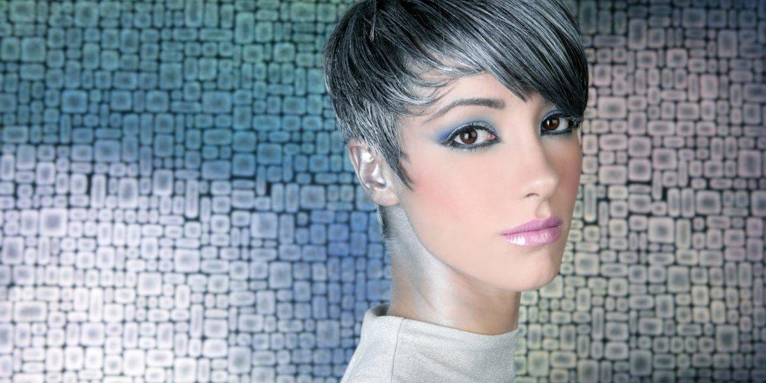 graue haare aufhellen
