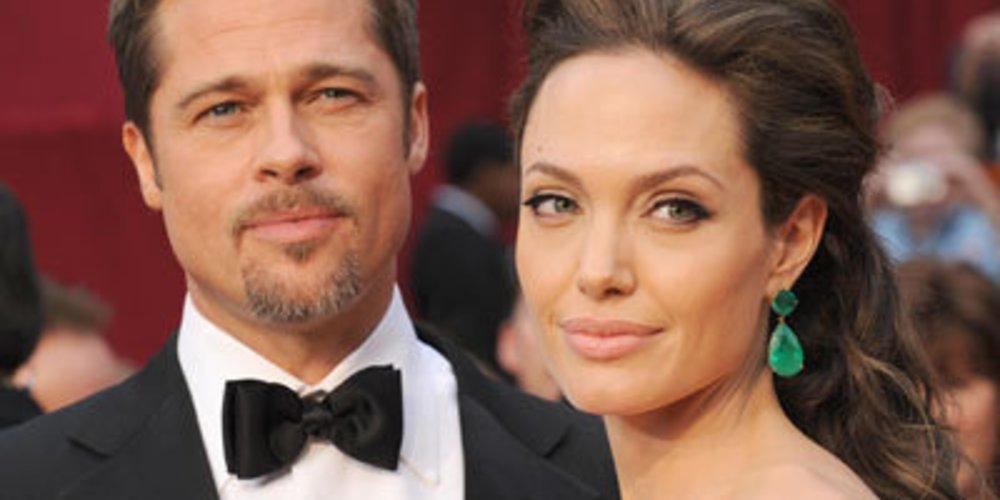 Angelina Jolie und Brad Pitt bei der Oscarverleihung