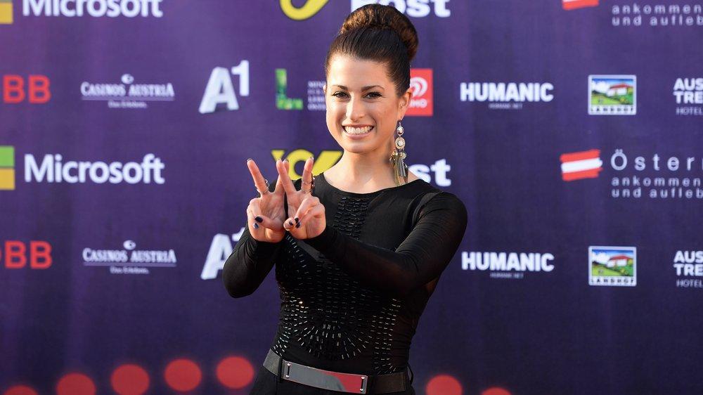 Eurovision Song Contest: Ann Sophie ist in Wien angekommen!