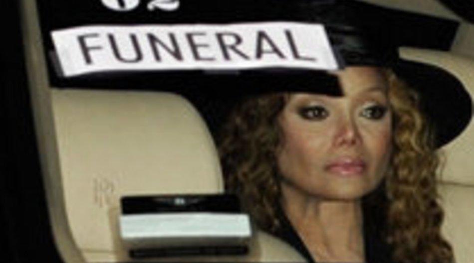 Michael Jacksons Beerdigung