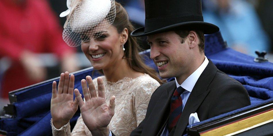 Prinz William und Kate Middleton heimlich im Kino