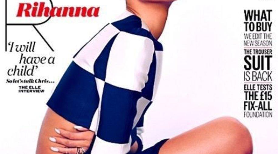 """Rihanna auf dem Cover der """"Elle""""!"""