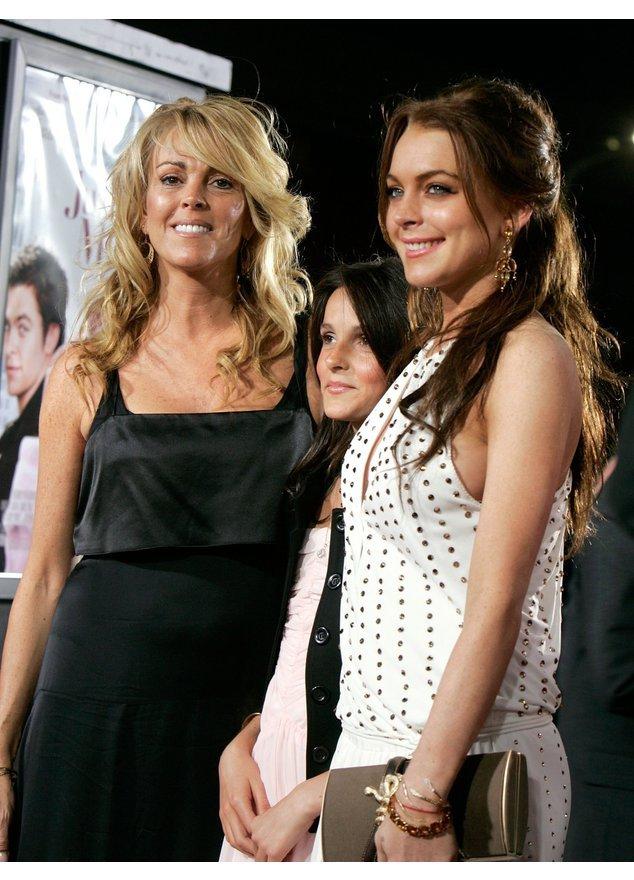 Lindsay Lohan und ihre Mutter vor einiger Zeit