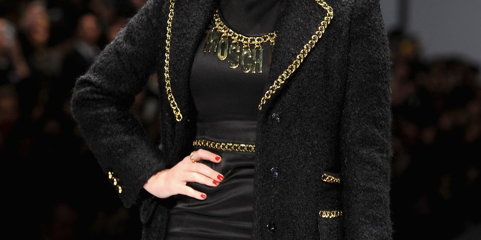 Katy Perry patzte bei der Fashion Week in Mailand