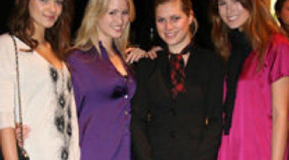Carolin, Raquel und Janina von Germanys next Topmodel