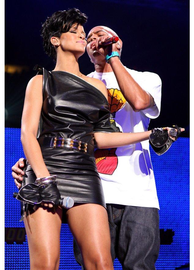 Rihanna und Chris Brown performen gemeinsam bei Jingle`s Ball.