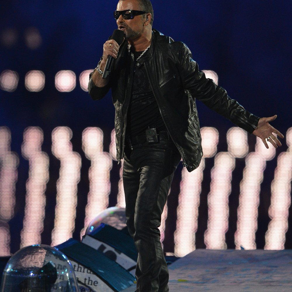 George Michael dankt bei Konzert seinen Lebensrettern