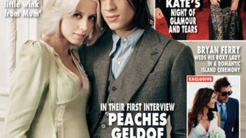 Peaches Geldof mit Babybauch