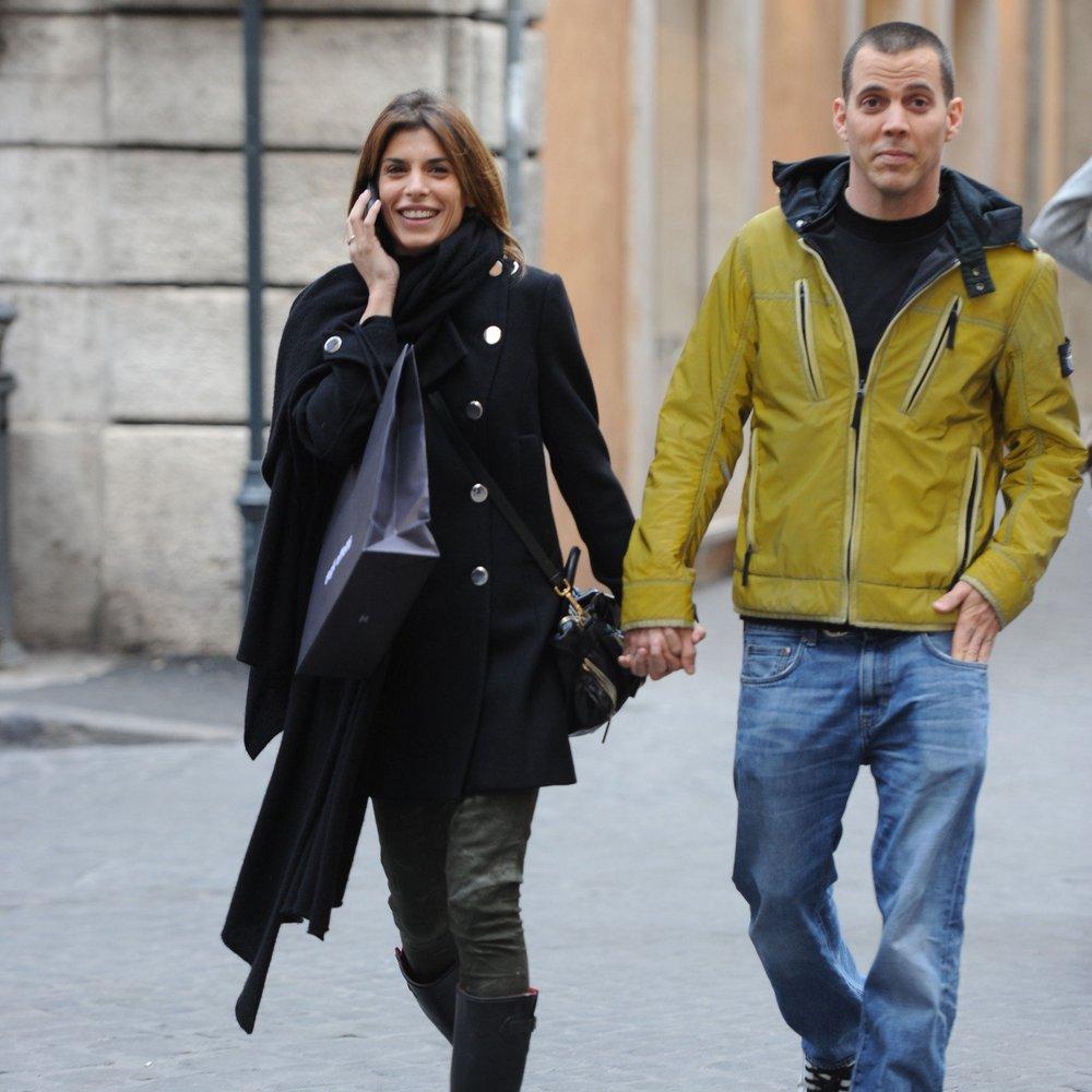 Elisabetta Canalis turtelt mit neuem Freund