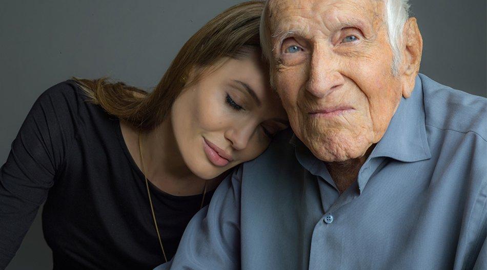 Angelina Jolie und Louis Zamperini