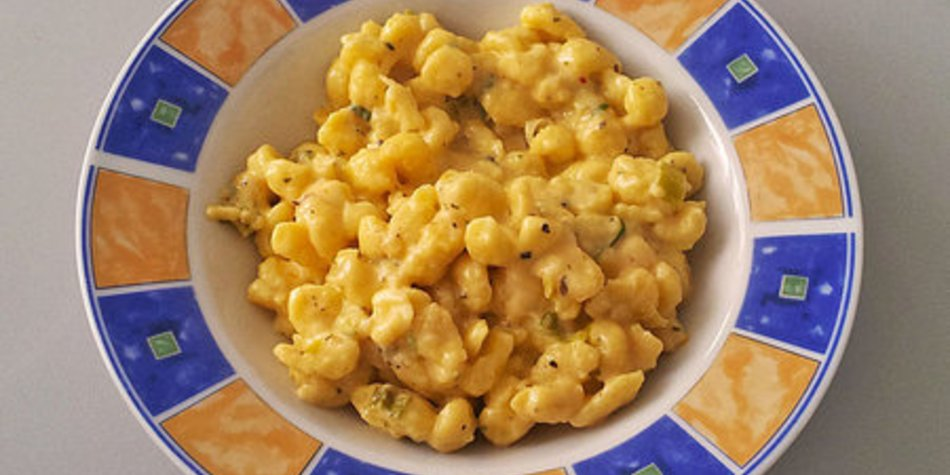 Käsespätzle (cremig und würzig)