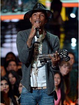 Pharrell Williams bei einem Auftritt