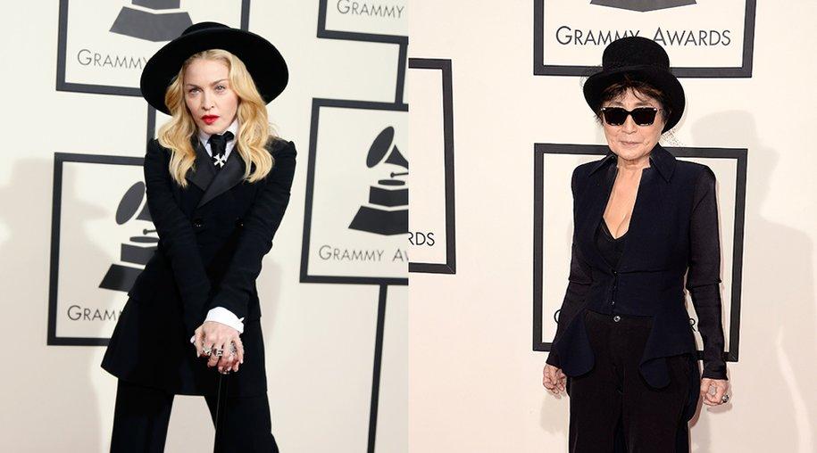 Grammy 2014 Madonna und Yoko Ono