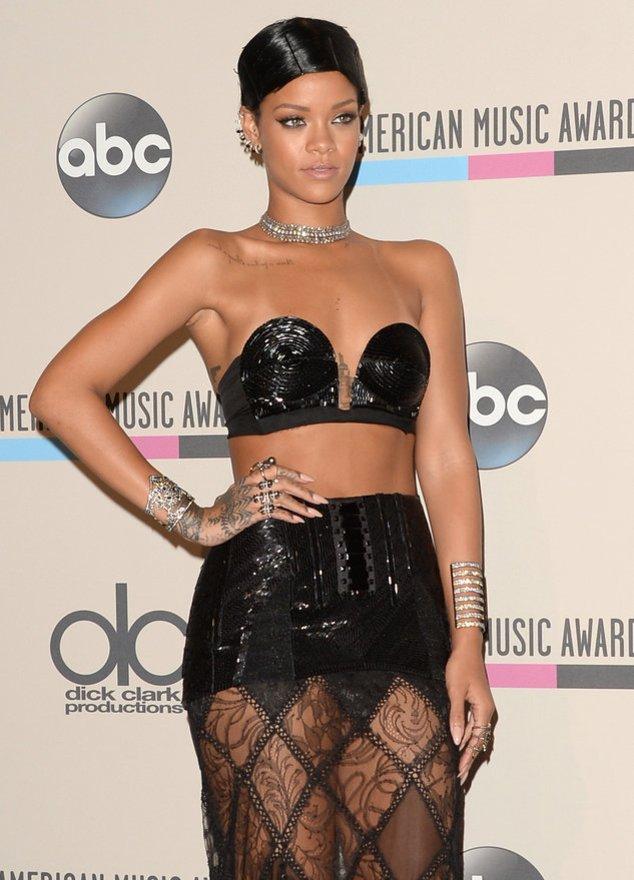 Rihanna bei einem Event