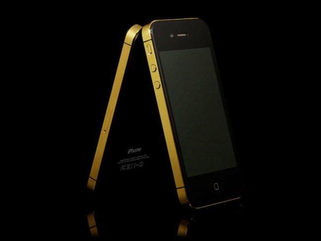 Goldene iPhones