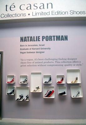 Natalie Portmans vegane Schuhe
