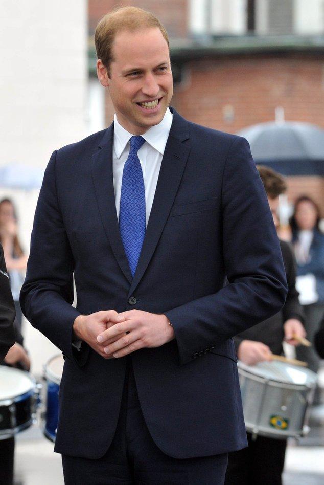 Prinz William bei einem Auftritt in Yorkshire